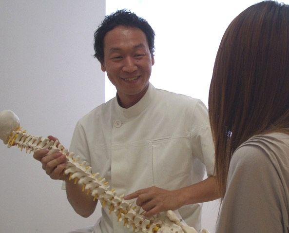 京都市の優心カイロプラクティックの徳山先生